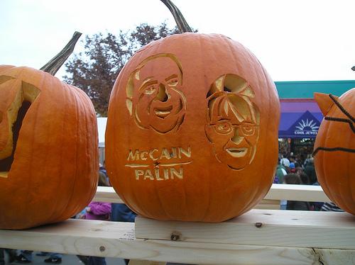 McCain pumpkin